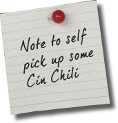 Stock up on Cin Chili today!